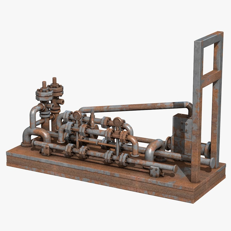 industrial equipment 3d model