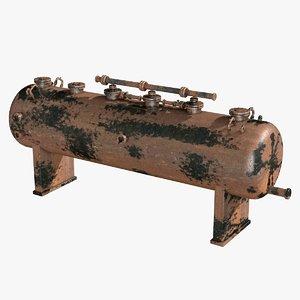 c4d rusty boiler