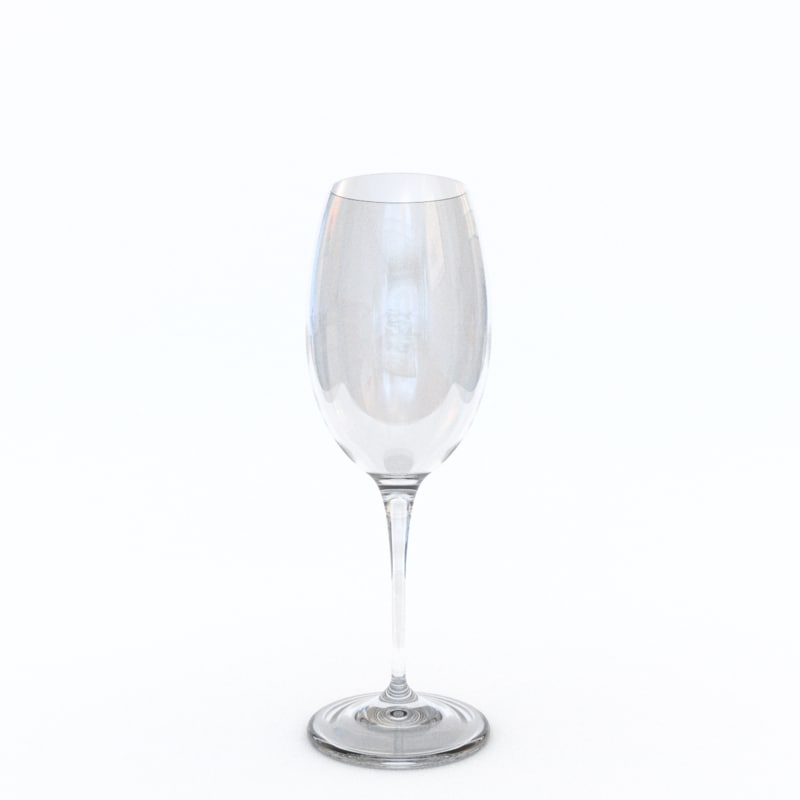 3ds standard red wine glass