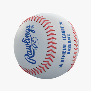 3ds max baseball rawlings