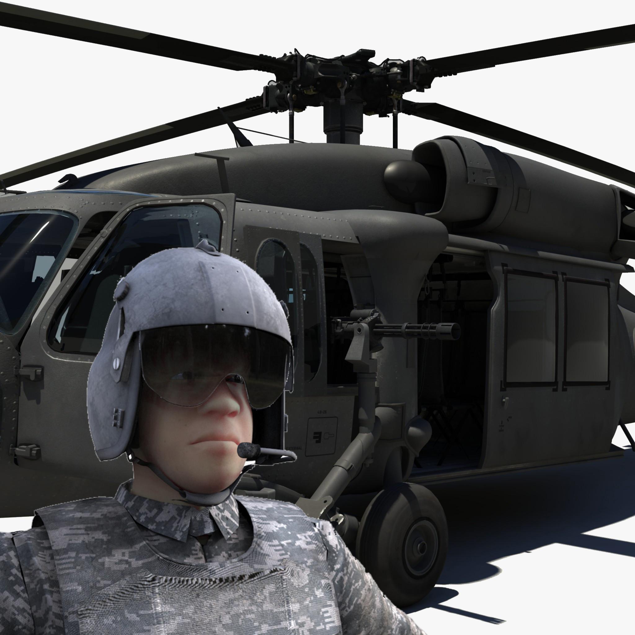 x blackhawk black hawk pilot