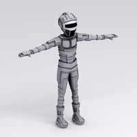 3dsmax android character