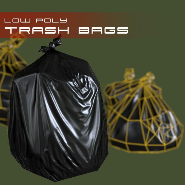 3dsmax trash bags