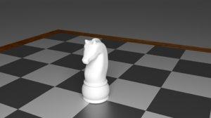 maya knight piece chess