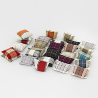 pillows 23 3d model