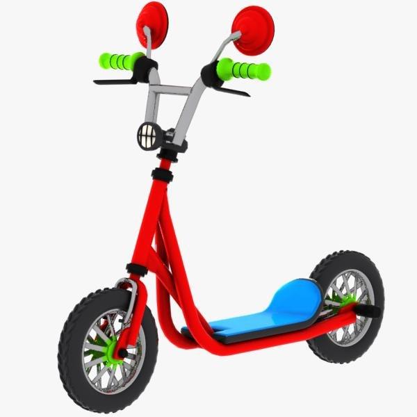 cartoon kick scooter max