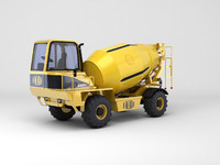 off-road concrete mixer max