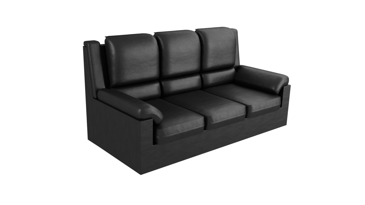 free cycles sofa 3d model