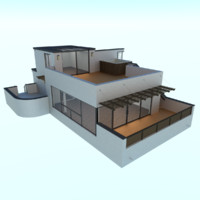 3ds modern home house