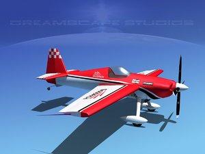 extra sport flugzeugbau ea300s 3d max