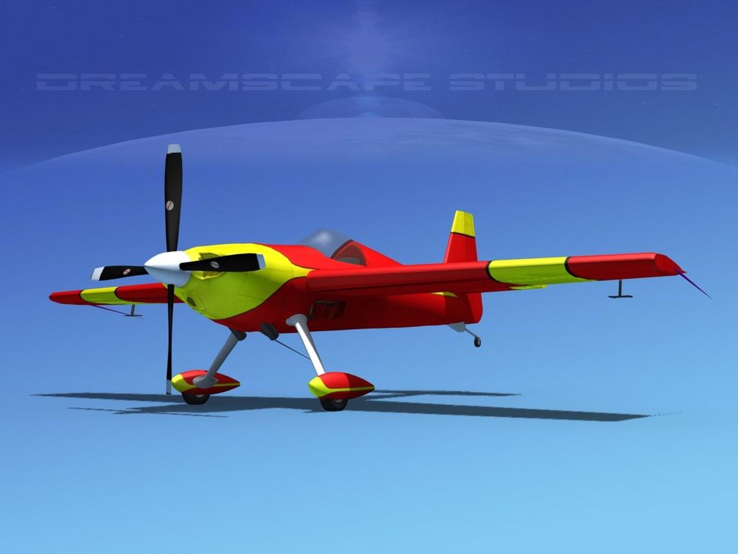 3d extra sport flugzeugbau ea300s model