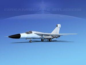 general raven ef-111 3d model