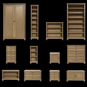 shelving 3d model