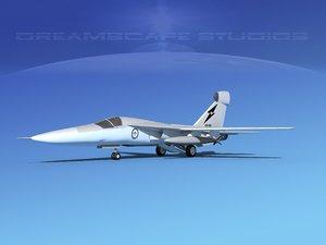 general raven ef-111 3d max