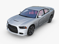 dodge charger srt8 c4d
