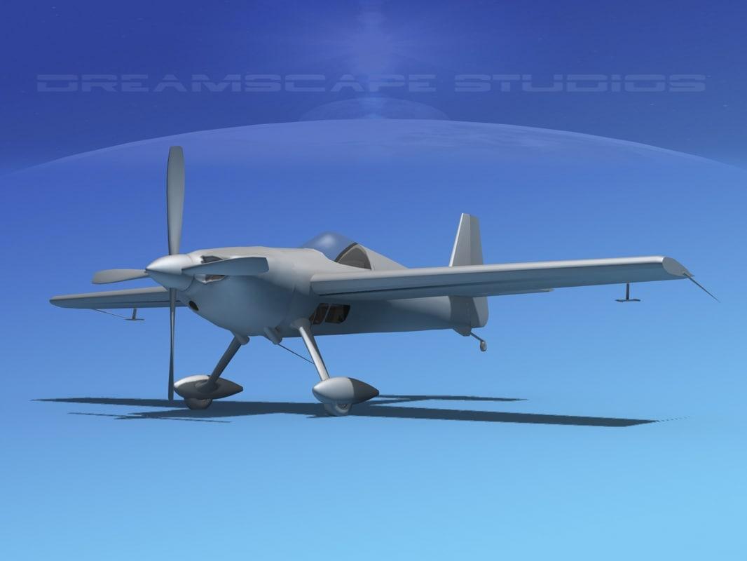 extra base flugzeugbau ea300 3d dxf