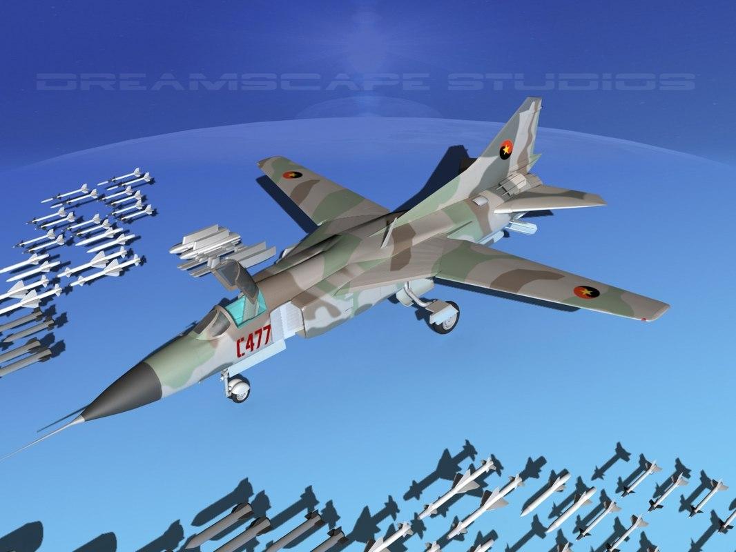 max mig-23 flogger b fighter