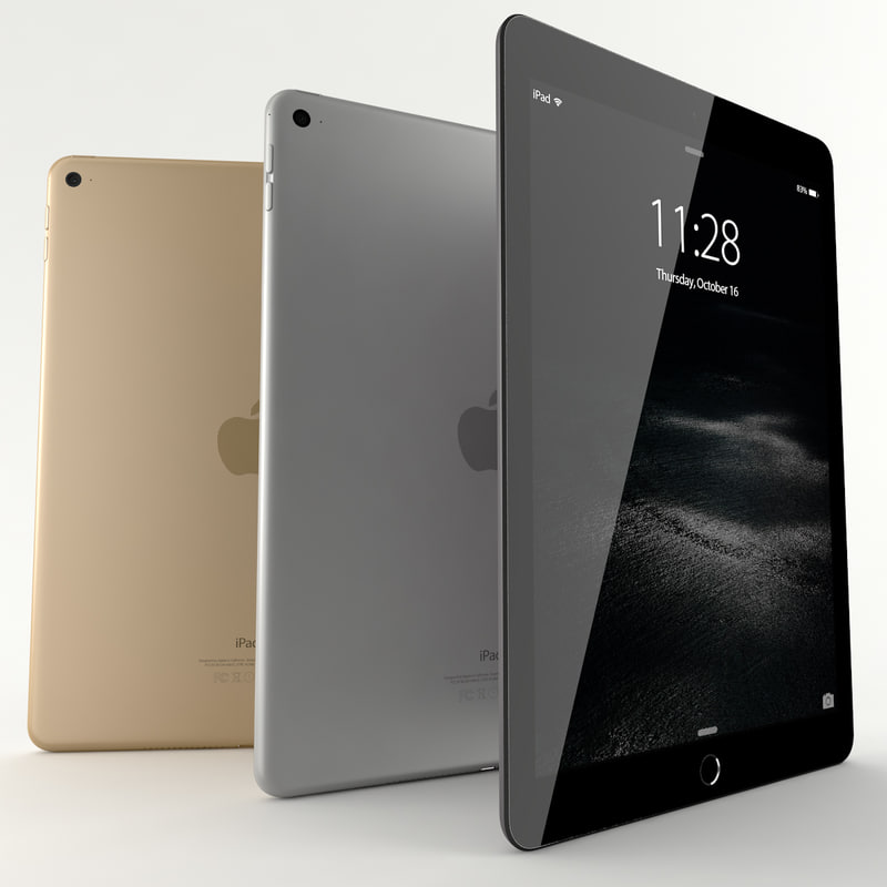 3ds ipad air 2 colours