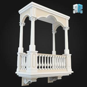 architectural modules obj