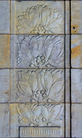 Tex City Hall Stone Relief  Tilable