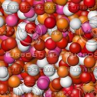 Warm color balls background
