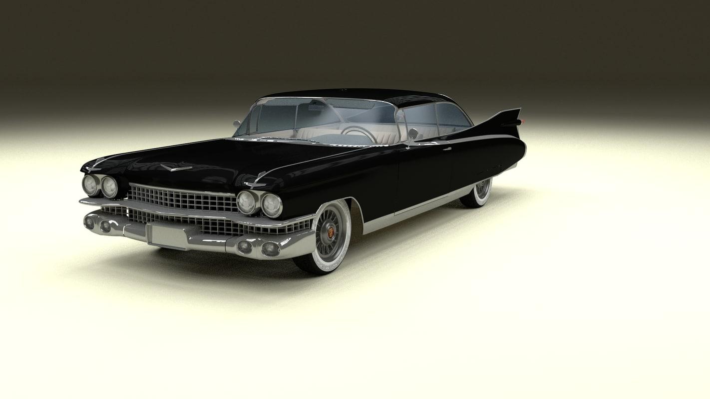 maya 1959 cadillac eldorado coupe