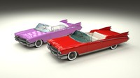 3d model cadillac eldorado 1959 pack