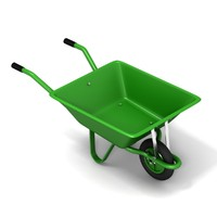 3d model wheelbarrow