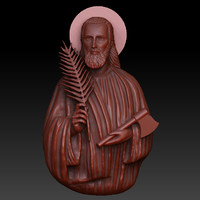 3d saint judas thaddeus model