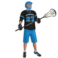 rigged lacrosse player max