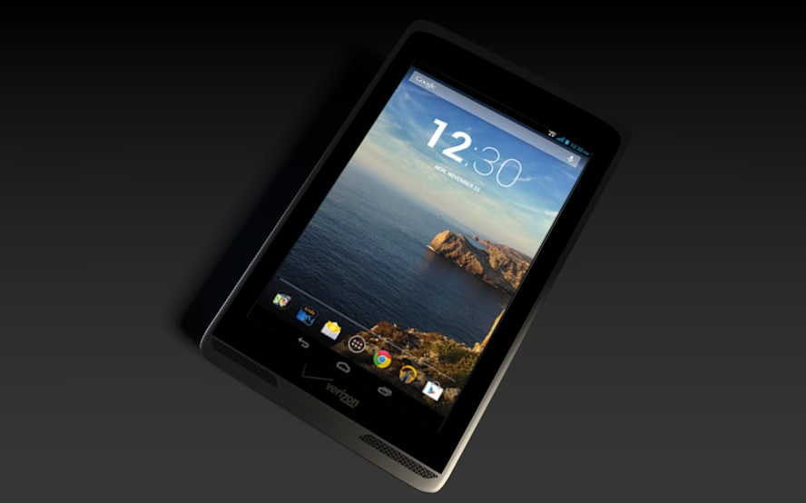 3d model verizon tablet