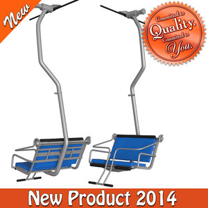 3ds max cableway chair type-6