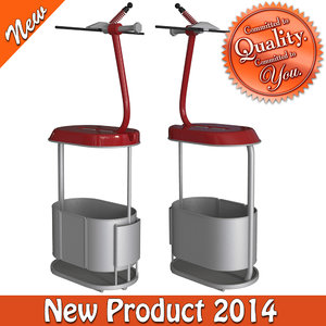 3d cableway chair type-4