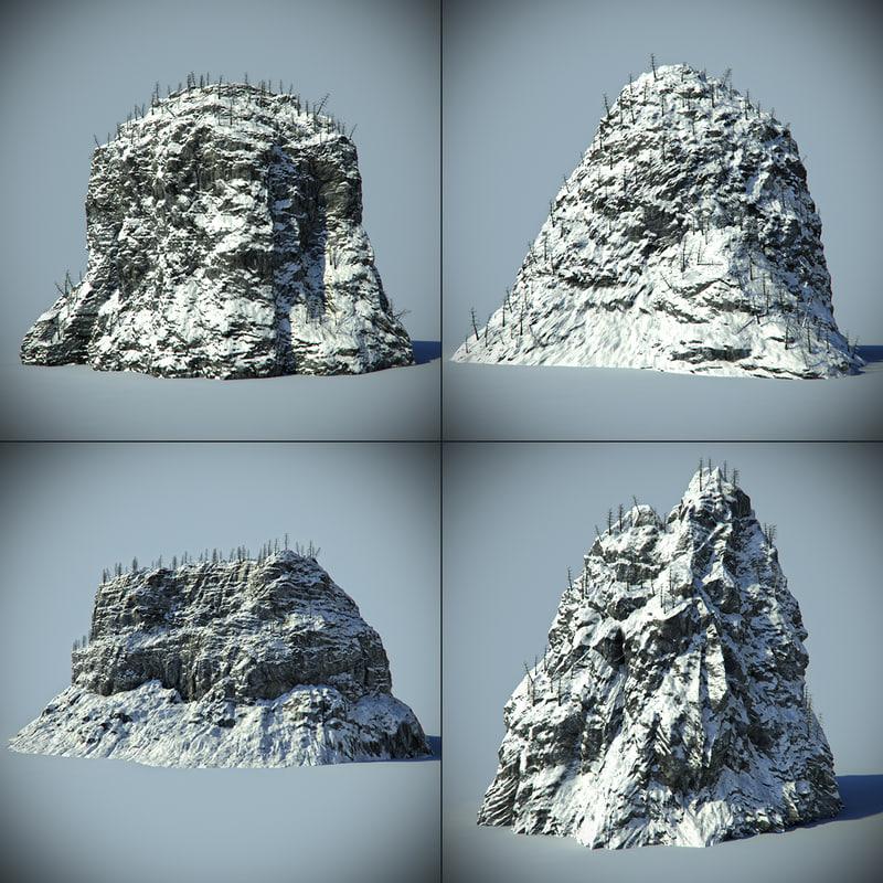 max snow rocks