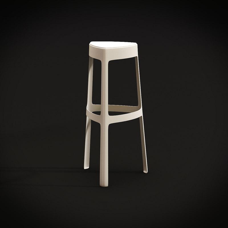 bonaldo f sedie chair 3d max