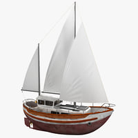 Sailboat Fisher 30
