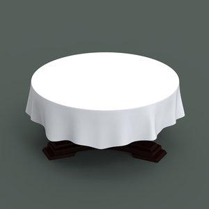 3d table banquet