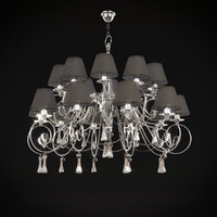 baga chandelier art 1182 3d model