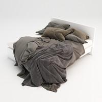 3d model bed 16