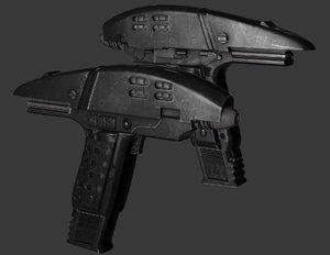assault phaser 3d model