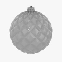 3d christmas decorations ball v03 model