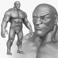 Muscular Man 2 Zbrush Sculpt