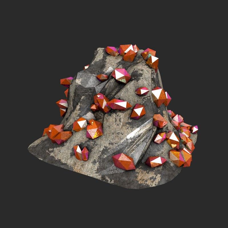 crystals c4d