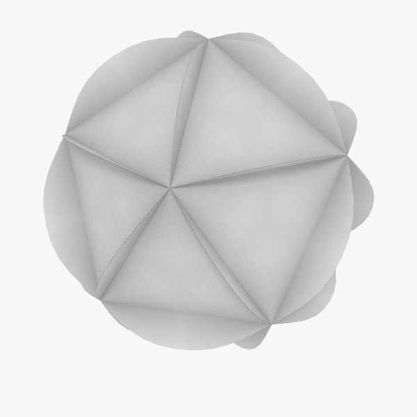 3ds max christmas decorations ball v05