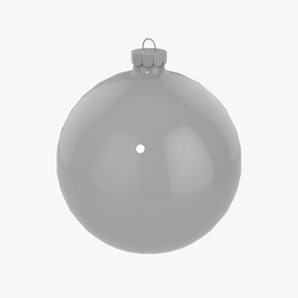 3d model christmas decorations ball v06