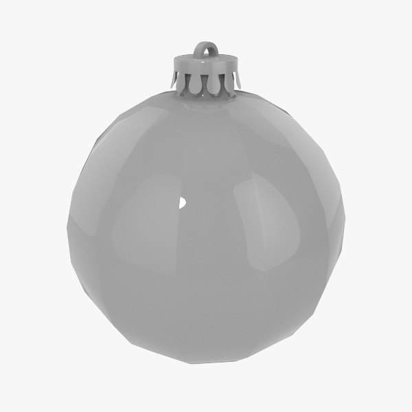 christmas decorations ball v08 3ds