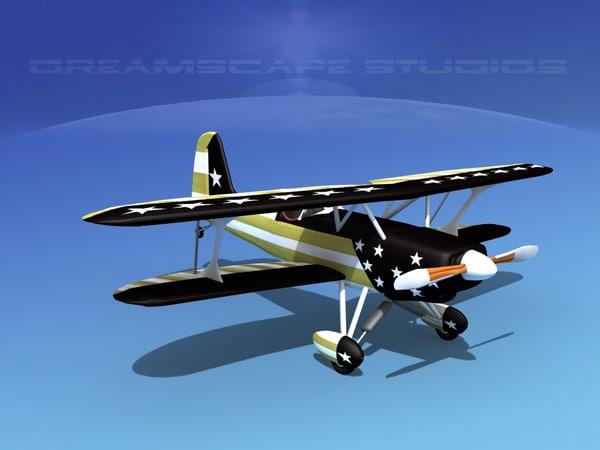 3d starduster cockpit single model