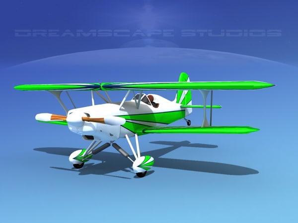 3d model starduster cockpit single