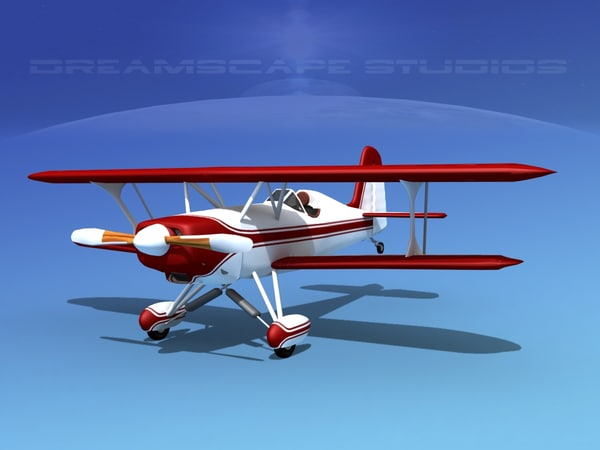 3d model starduster cockpit single