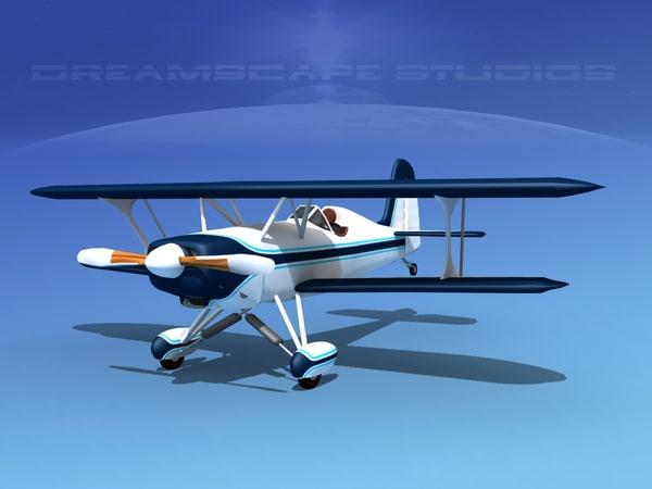 starduster cockpit single 3d model